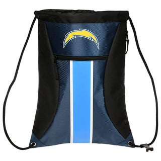 San Diego Chargers NFL Big Stripe Drawstring Backpack