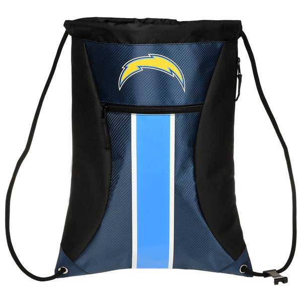 San Diego Chargers Backpack: Shop San Diego Chargers NFL Big Stripe Drawstring Backpack