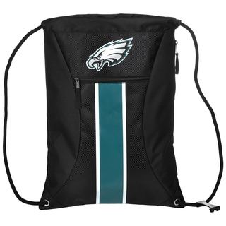 Philadelphia Eagles NFL Big Stripe Drawstring Backpack