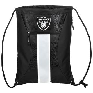Oakland Raiders NFL Big Stripe Drawstring Backpack