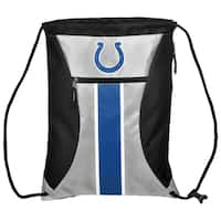 Indianapolis Colts NFL Big Stripe Drawstring Backpack