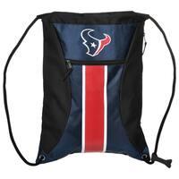 Houston Texans NFL Big Stripe Drawstring Backpack