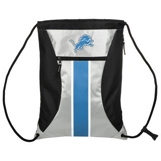 Detroit Lions NFL Big Stripe Drawstring Backpack