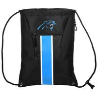 Carolina Panthers NFL Big Stripe Drawstring Backpack