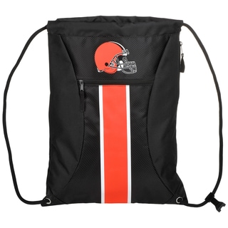 Cleveland Browns NFL Big Stripe Drawstring Backpack