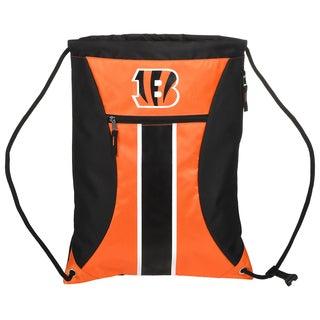 Cincinnati Bengals NFL Big Stripe Drawstring Backpack