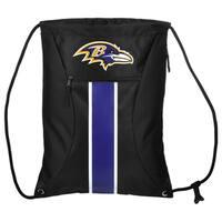 Baltimore Ravens NFL Big Stripe Drawstring Backpack