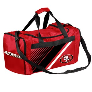 San Francisco 49Ers NFL Border Stripe Duffle Bag
