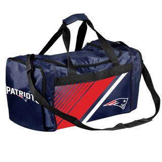 New England Patriots NFL Border Stripe Duffle Bag