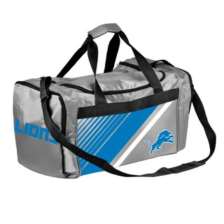 Detroit Lions NFL Border Stripe Duffle Bag
