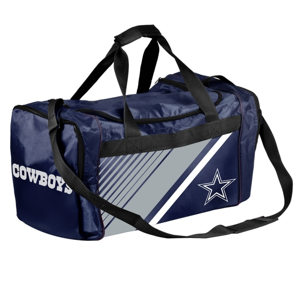 ad58ff33482 Shop Dallas Cowboys NFL Border Stripe Duffle Bag - Free Shipping On Orders  Over $45 - Overstock - 17292512