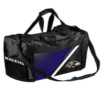 Baltimore Ravens NFL Border Stripe Duffle Bag