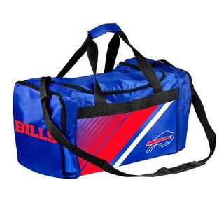 Buffalo Bills NFL Border Stripe Duffle Bag