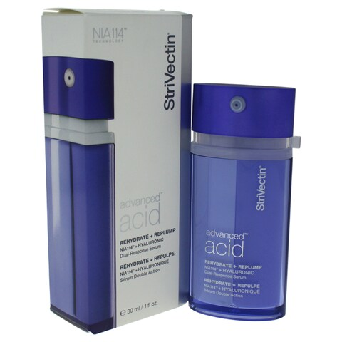 StriVectin Advanced Acid Rehydrate + Replump Hyaluronic 1-ounce Dual-Response Serum