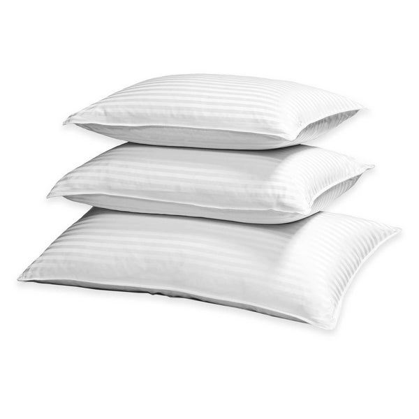 Hotel Grand 500 Thread Count Damask Silk/Cotton Down Pillow