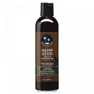 Guavalava Hemp Seed 2-ounce Massage Oil