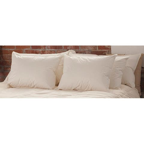 Organic, Naturally Hypoallergenic & Eco-Friendly 800-fill Extra Firm Pillow