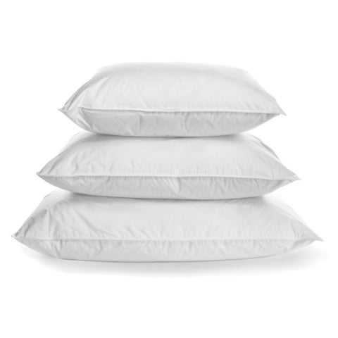 Luxurious, Eco-Friendly & Naturally Hypoallergenic 900-fill, 485-thread count, Hypodown Soft Pillow