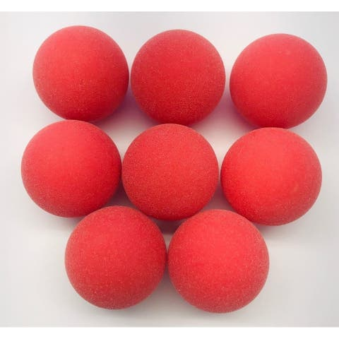 Tournament Quality Red Foosball Balls (Set of 8)
