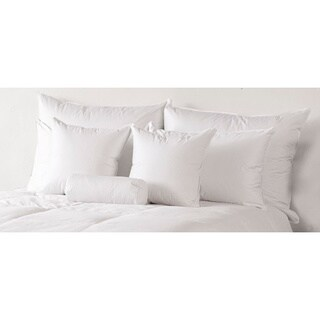 Responsibly Sourced & Eco-Friendly, Traditional 600 White Down Extra Firm Pillow