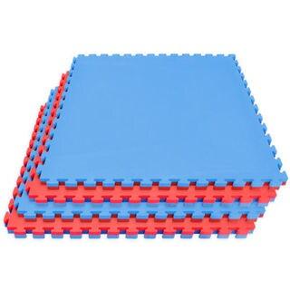 Sivan Health and Fitness Karate Mat, Puzzle Tiles, High Density Sports Mat