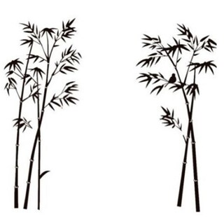 Bamboo Wall Decal Sticker Vinyl Decor Art