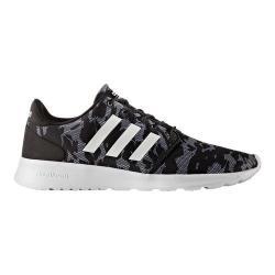 Women's adidas NEO Cloudfoam QT Racer Sneaker Core Black/FTWR White/Core Black