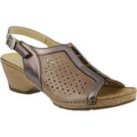 Women's Spring Step Juna Slingback Taupe Multi Leather
