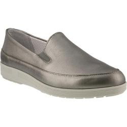 Women's Spring Step Lois Slip On Pewter Leather