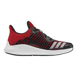 Boys' adidas Fortarun K Printed Running Shoe Core Black/Silver Metallic/Core Red