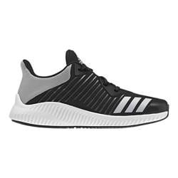 Boys' adidas Fortarun K Running Shoe Core Black/Energy/Silver Metallic