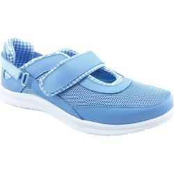 Women's Bellini Fun Athleisure Mary Jane Light Blue Leather/Mesh