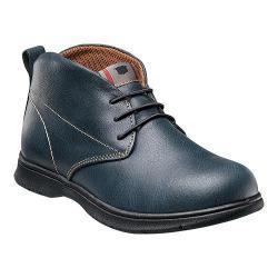 Boys' Florsheim Flites Chukka Jr. Navy Leather