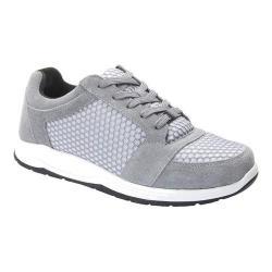 Women's Drew Gemini Walking Shoe Grey Suede/Mesh