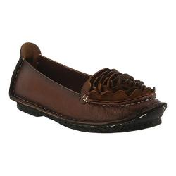 Women's L'Artiste by Spring Step Dezi Slip-On Brown Leather
