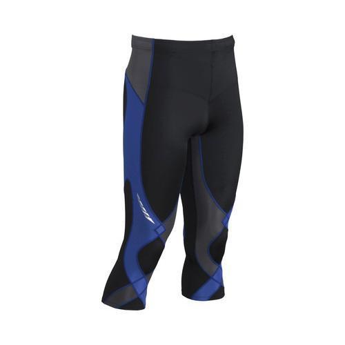 Men's CW-X 3/4 Stabilyx Tight Black/Grey/Blue