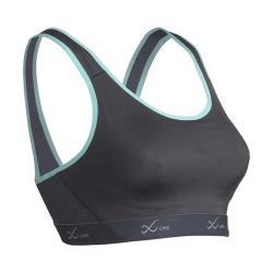 Women's CW-X VersatX Support Bra Charcoal/Turquoise
