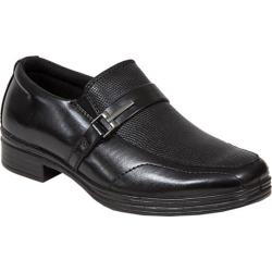 Boys' Deer Stags Bold Embossed Loafer Black