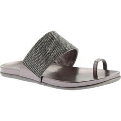 Women's Kenneth Cole Reaction Slim Tricks Toe Loop Sandal Pewter Polyurethane