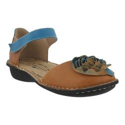 Women's L'Artiste by Spring Step Caicos Mary Jane Camel Multi Leather