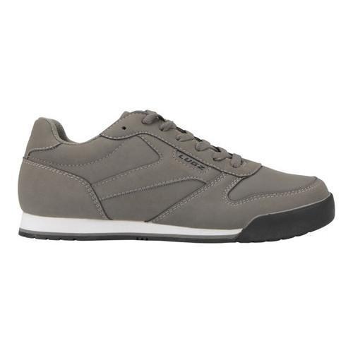 ... Men's Lugz Matchpoint Sneaker Charcoal/White/Black ...