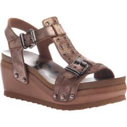 Women's OTBT Caravan T-Strap Sandal Copper Leather