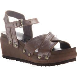 Women's OTBT Coast Strappy Sandal New Bronze Leather
