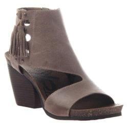 Women's OTBT Flower Sandal Grey Pownder Leather
