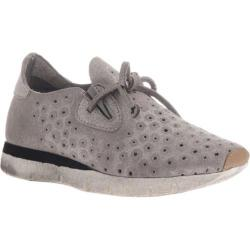 Women's OTBT Lunar Sneaker Grey Silver Leather/Synthetic