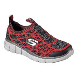 Boys' Skechers Equalizer 2.0 Well Played Slip-On Sneaker Red/Gray