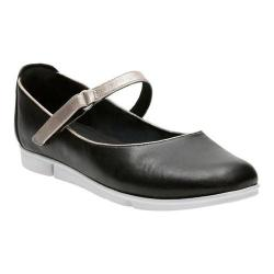 Women's Clarks Tri Axis Mary Jane Black Cow Full Grain Leather