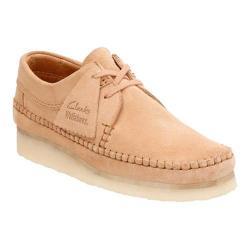 Women's Clarks Weaver Moc Toe Shoe Fudge Suede
