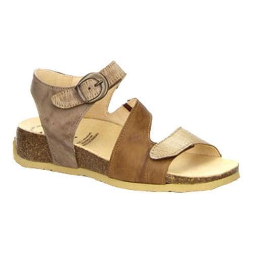 26481ed82408 Shop Women s Think! Mizzi 80359 Strappy Slingback Lion Leather - Free  Shipping Today - Overstock - 14381457