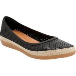 Women's Clarks Danelly Adira Slip-On Black Cow Full Grain Leather